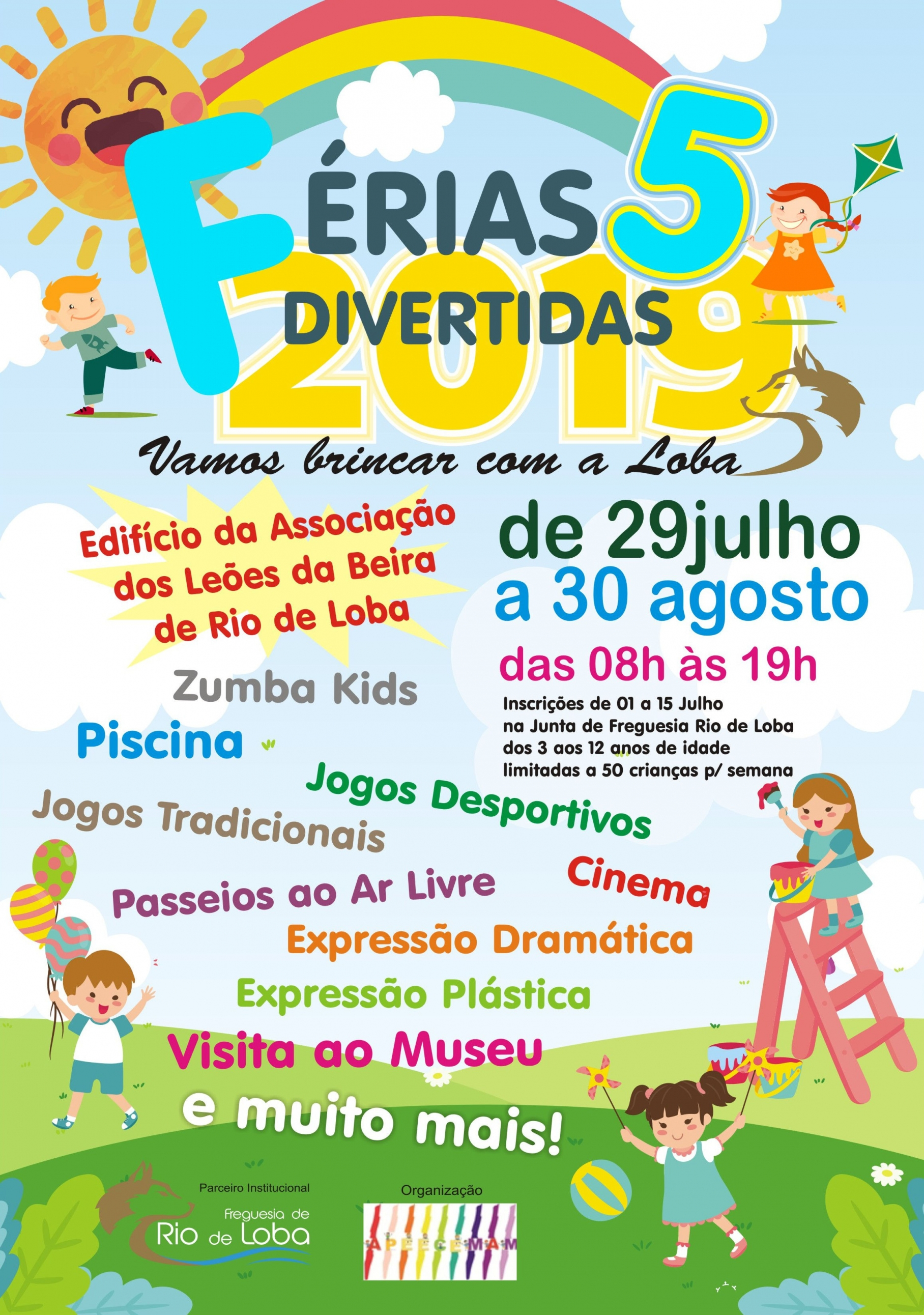 Cartaz Férias Divertidas 5